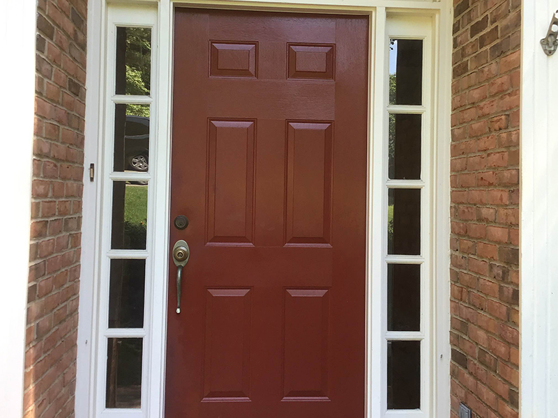 ProVia Heritage Door in Roswell, GA before picture