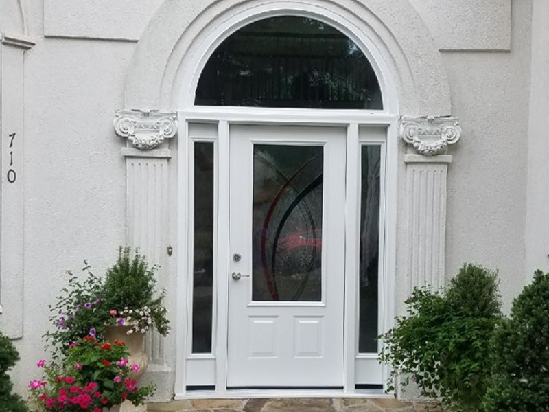 ProVia Legacy Entry Door in Alpharetta, GA after picture outside the home