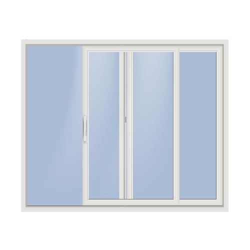Multi panel doors silhouette