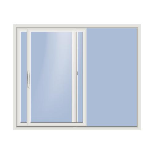 Sliding doors silhouette