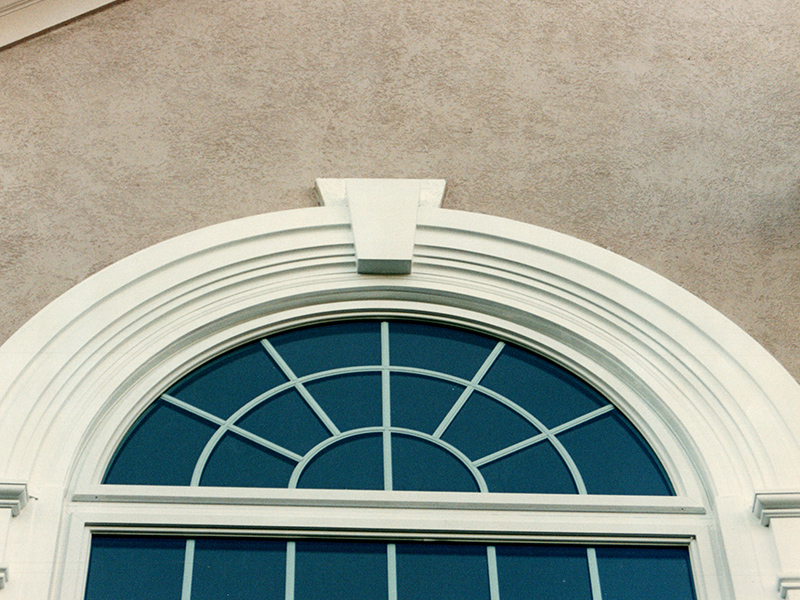 Sunrise Restorations Half Round Window in Sandy Springs, GA after picture