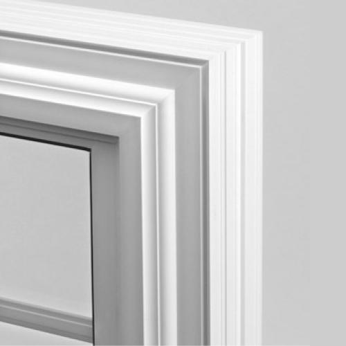 Vinyl windows product logo