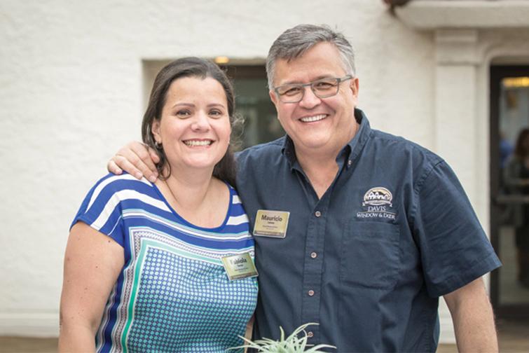 Picture of Davis Window & Door owner with his wife