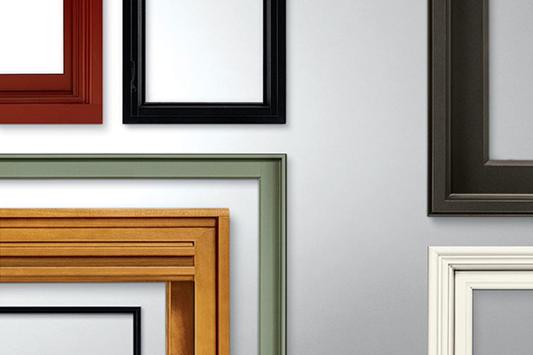 Various window frames for window maintenance