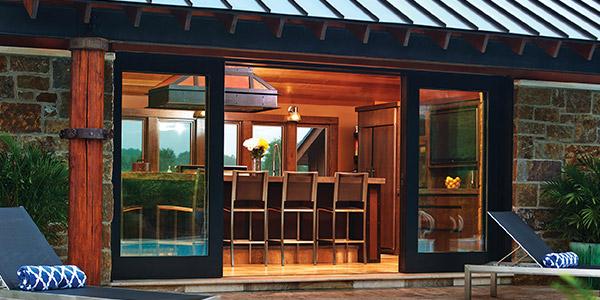 Multi-Panel Sliding Glass Doors