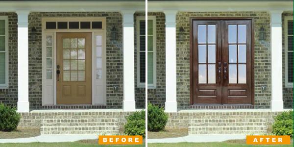 Convert Single Door to Double Door