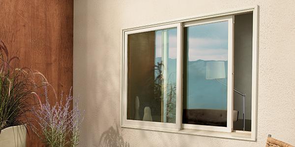 Fiberglass Wood Windows - Marvin Elevate Glider Windows
