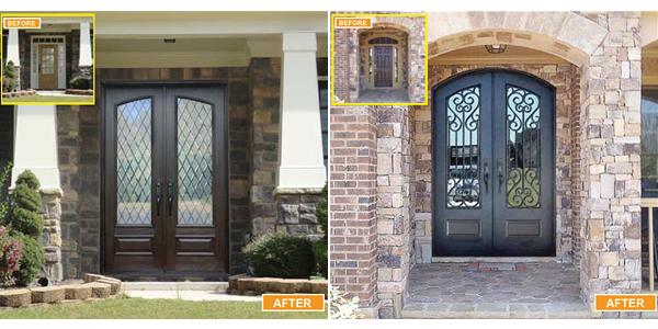 MaxCraft Doors - Double Entry Doors