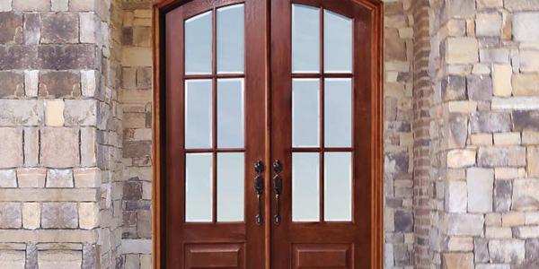 MaxCraft Doors - Double Front Entry Doors