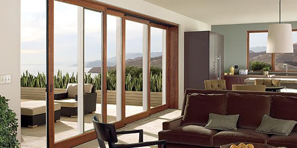 Wood Doors - Marvin Multi-Slide Doors