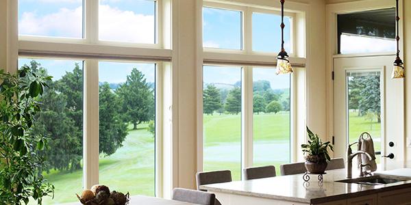 Vinyl Wood Casement Windows